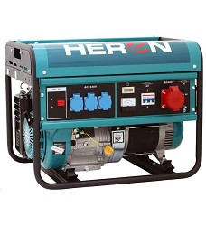 Elektrocentrála beznínová HERON, EGM 60 AVR-3  6000W,13HP OHV