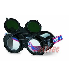 Brýle svářecí UVEX 9350.035 odklápěcí, kruhový zorník, tmavost 5, na dioptrickébrýle