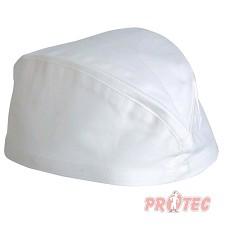 Lodička VOLANS pracovní čepice bílá 100% bavlna