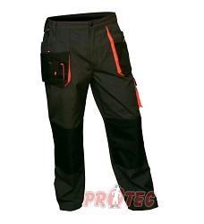Montérky EMERTON kalhoty pánské pas 303889, černo-oranžové