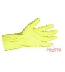 Rukavice úklidové MAJA 3049, žluté