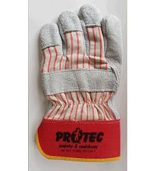 Rukavice PROTEC 113010 kombinované štípenka s bavlněnou tkaninou KOMBIK