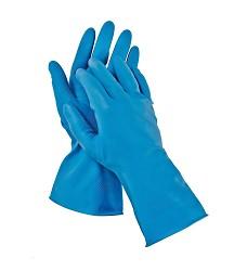 Rukavice STARLING BLUE latexové modré  DOPRODEJ!!!