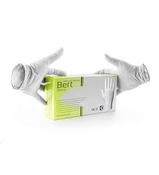 Rukavice BERT jednorázové latexové lehce pudrované 100ks