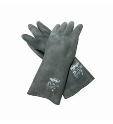 Rukavice technické černé VULKAN 35cm 350/1,5