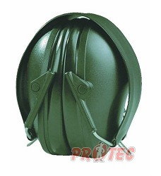Mušlový chánič PELTOR H515FB-516-GN, BULLS EYE, zelený, skládací,48223