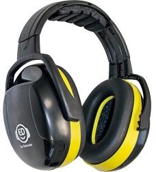 Mušllový chránič ED 2H sluchátka-hlava EAR DEFENDER yellow, SNR 30 dB