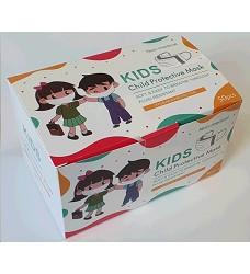 Ústenka dětská jednorázová AMY MASK 4-vrstvá  - cena za 1 ks/50 ks v bal.