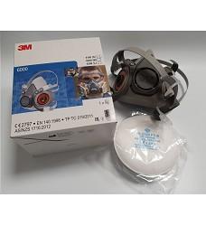 SET - Polomaska 3M 6000 + filtry FFP2