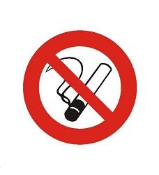 B.t.samolepka Zákaz kouření 10x10cm