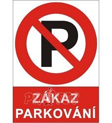 B.t. plast Zákaz parkování A4