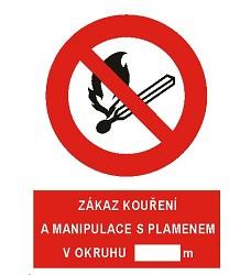 B.t. folie  Zákaz kouření a manipulace .... A5, 4206b
