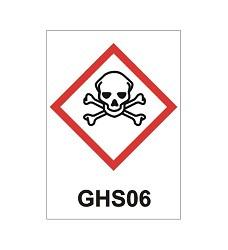 B. tabulka folie Toxické  látky 20x20