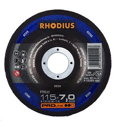 Kotouč brusný 115 x 7 mm ocel SR2  Rhodius ProLine 200184