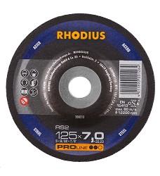 Kotouč brusný 125 x 7 mm ocel  RS2 Rhodius ProLine 200213