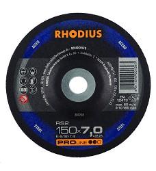 Kotouč brusný 150 x 7mm ocel RS2  Rhodius ProLine 200238