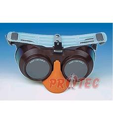Brýle svářecí OKULA B-B 39 SOSF, sklápěcí s čelenkou