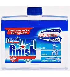 FINISH  čistič myčky 250ml 2 druhy