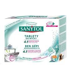 SANYTOL 4v1 tablety do myčky dezinfekční 40 kusů