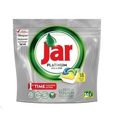 JAR PLATINUM All in 1 kapsle do myčky 18 kusů
