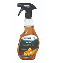 SIDOLUX Baltic Amber čistící prostředek na okna 500ml,/10 s rozprašovačem