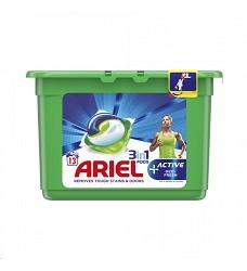 ARIEL gelové kapsle tříkomorové 13 kusů ACTIVE