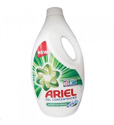 Ariel tekutý prací gel 1100 ml = 20 dávek MOUTAIN SPRING