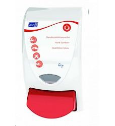 Dávkovač DEB APEX Florafree dezinfekce 1L červený  SAN1LDSMD