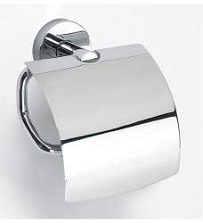 Držák na toaletní papír chromový s krytem BATH LINE