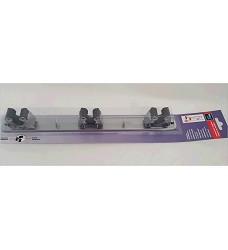 Držák na smeták 3034-7 - lišta 3ks + 2ks délka 37cm