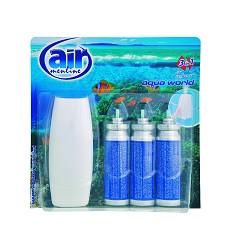 Osvěžovač vzduchu AIR MENLINE -strojek + 3 x15ml /10 náhr.AQUA WORLD