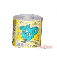 Toaletní papír EASY TOP 400  jednovrstvý -CLIRO