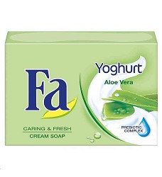 Mýdlo tuhé FA 90g/24  YOGHURT ALOE VERA