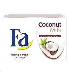 Mýdlo tuhé FA 90g/24  COCONUT MILK