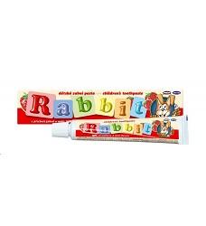Zubní pasta dětská  RABBIT jahoda 45g