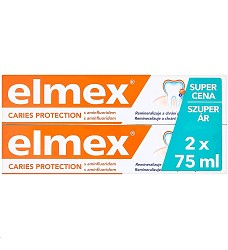 Zubní pasta ELMEX 2kusy x 75ml CARIES PROTECTION