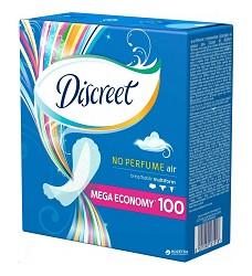 Vložky hygienické DISCREET Multiform air no perfume 100ks