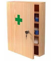Lékárna nástěnná TYP II (dřevěnná) bez náplně