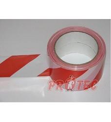 Páska samolepící červenobílá 6cm 400115-6 profi