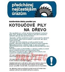 B.t. pl.ast PBP - kotoučové  pily na dřevo