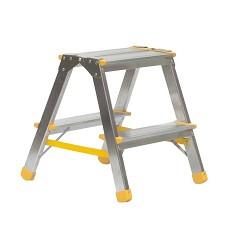 Schůdky AL oboustranné 2 stupně Proteco 150 kg