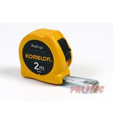 Metr svinovací KMC 2074N-2m žlutý  KOMELON