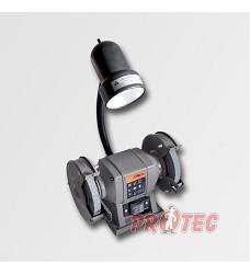 Dvoukotoučová bruska stolní  150mm / 300W + svítidlo 40W P9444