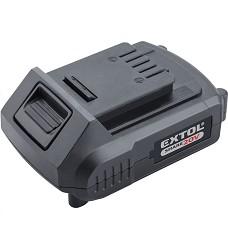 Baterie akumulátorová SHARE20V Li-ion 2000 mAh  Extol Energy 8891881