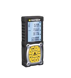 Měřič vzdálenosti laserový 0,2 - 60m Proteco 10.05-MV-60