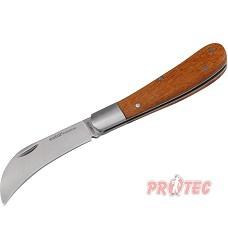 Nůž štěpařský zavírací 175/100mm  nerez.ocel