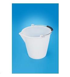 Vědro 6L PH bílé s výlevkou, vhodné i pro potraviny