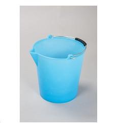 Vědro 9L PH modré s výlevkou, vhodné i pro potraviny
