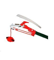 Nůžky na větve housenice s pilkou 30 cm, teleskopické 120 - 240 cm