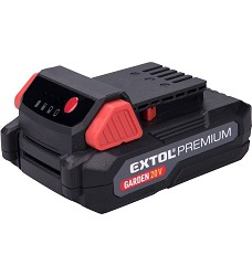 Baterie akumulátorová 20V Li-ion 2000 mAh Extol Premium 8895780